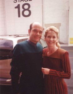 Robert Picardo and Debbie Grattan - Star Trek Voyager
