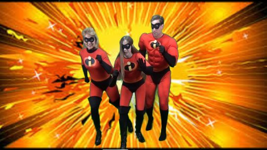 The Incredibles - Halloween 2015