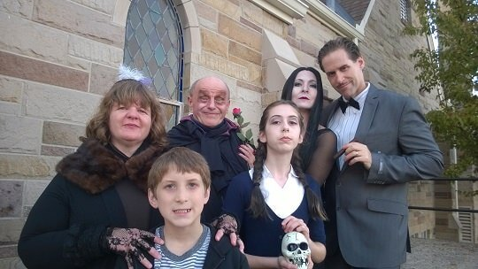 The Addams Family for Halloween 2014