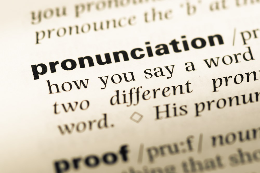 Help voice over talents with exact pronunciation