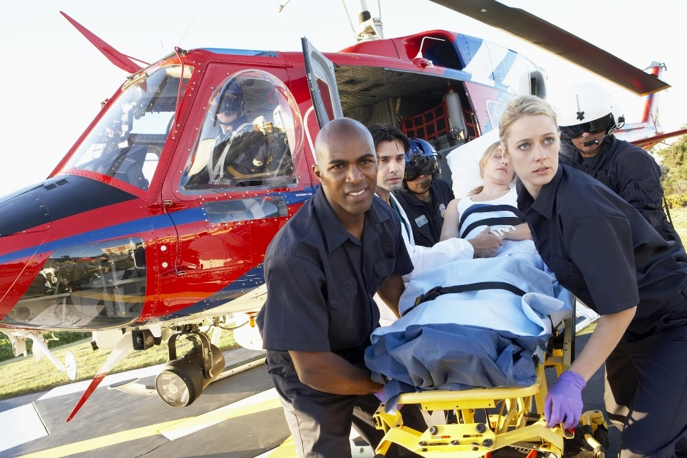 High Costs of Emergency Transport can wreak havoc on a voice over talent business